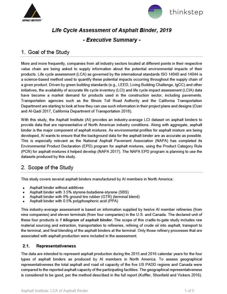 Asphalt-Institute-LCA-Executive-Summary_2019-06-10