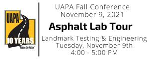 2021 fall conference asphalt tour